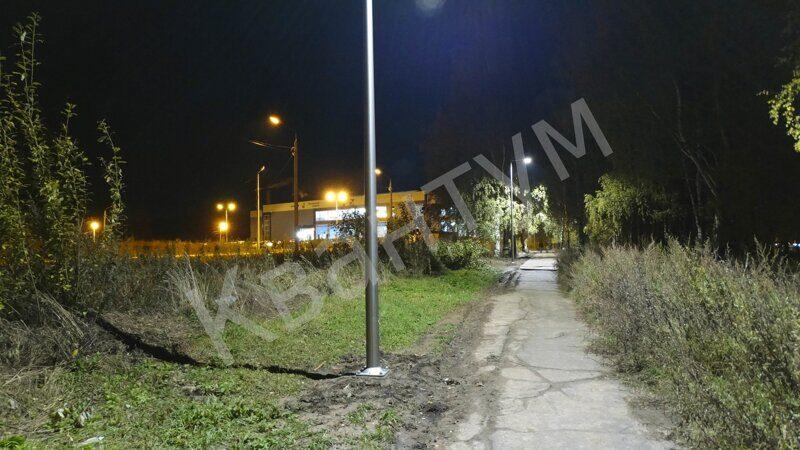 Светодиодные фонари для уличного освещения дачи наземные